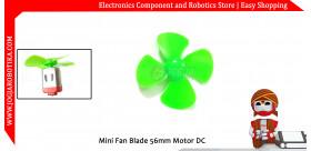 Mini Fan Blade 56mm Motor DC