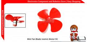 Mini Fan Blade 100mm Motor DC