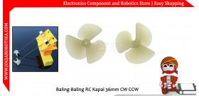Baling-Baling RC Kapal 36mm CW CCW