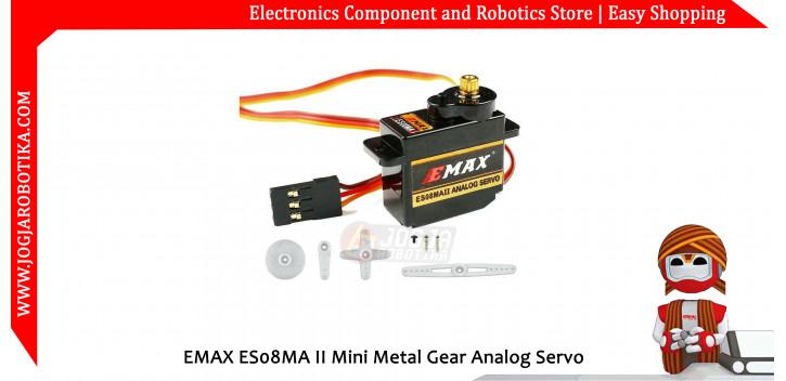 EMAX ES08MA II Mini Metal Gear Analog Servo