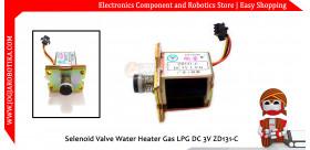 Selenoid Valve Water Heater Gas LPG DC 3V ZD131-C