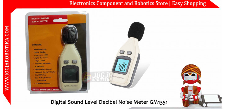 Digital Sound Level Decibel Noise Meter GM1351