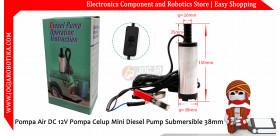 Pompa Air DC 12V Pompa Celup Mini Diesel Pump Submersible 38mm