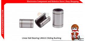 Linear Ball Bearing LM6UU Sliding Bushing