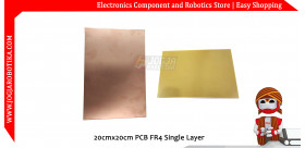20cmx20cm PCB FR4 Single Layer