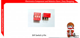 DIP Switch 3 Pin