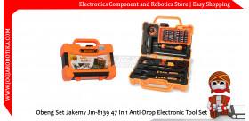 Obeng Set JAKEMY JM-8139 47 IN 1 Anti-Drop Electronic Tool Set