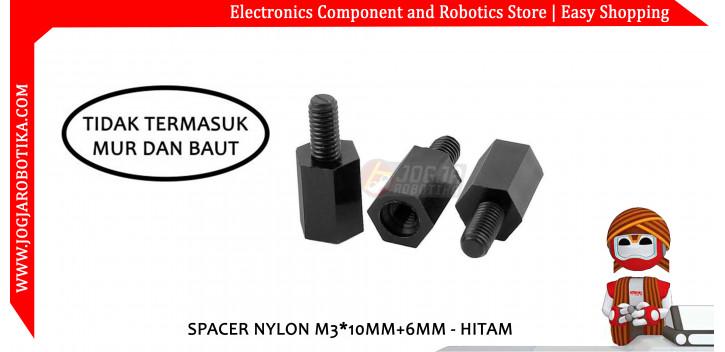 Spacer Nylon M3*10mm+6mm