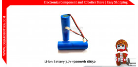 Li-ion Battery 3.7v 1500mAh 18650