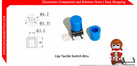 Cap Tactile Switch-Biru