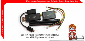 3DR FPV Radio Telemetry 915MHz 100mW for APM Flight Control 2.6 2.8