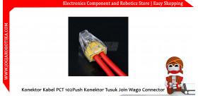 Konektor Kabel PCT 102 PCT102 Push Konektor Tusuk Join Wago Connector