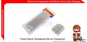 Project Board / Breadboard Mb-102 Transparant