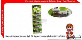 Baterai Battery Remote Bell GP Super 27A 12V Alkaline GP27AF-2IL5