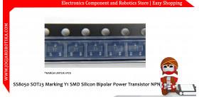 SS8050 SOT23 Marking Y1 SMD Silicon Bipolar Power Transistor NPN