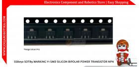 SS8050 SOT89 Marking Y1 SMD Silicon Bipolar Power Transistor NPN