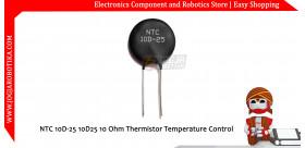 NTC 10D-25 10D25 10 Ohm Thermistor Temperature Control