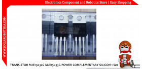 Transistor MJE15032G MJE15033G Power Complementary Silicon 1 Set