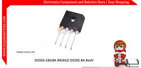 DIODA GBU8K BRIDGE DIODE 8A 800V