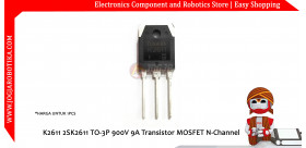 K2611 2SK2611 TO-3P 900V 9A Transistor MOSFET N-Channel