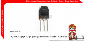 K3878 2SK3878 TO-3P 900V 9A Transistor MOSFET N-Channel