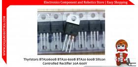 Thyristors BTA20600B BTA20-600B BTA20 600B Silicon Controlled Rectifier 20A 600V