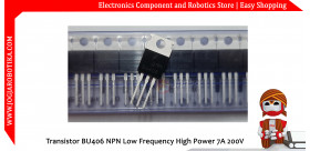 Transistor BU406 NPN Low Frequency High Power 7A 200V