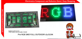 P10 RGB SMD FULL OUTDOOR MEIYAD 1/4 SCAN