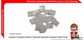Isolator Transistor Silicon Thermal Heatsink Insulator Pads TO-3P