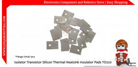 Isolator Transistor Silicon Thermal Heatsink Insulator Pads TO-220