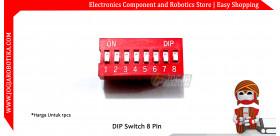 DIP Switch 8 Pin