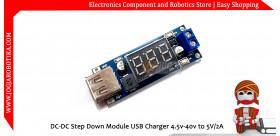 DC-DC Step Down Module USB Charger 4.5v-40v to 5V/2A