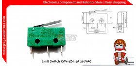Limit Switch KW4-3Z-3 5A 250VAC