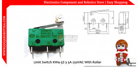 Limit Switch KW4-3Z-3 5A 250VAC With Roller