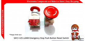 SAY7-11ZS 22MM Emergency Stop Push Button Reset Switch