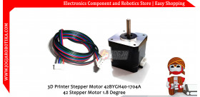 3d Printer Stepper Motor 42BYGH40-1704A 42 Stepper Motor 1.8 Degree