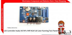 LED Controller Huidu HD-WF2 Wifi RGB Full Color Running Text Panel P10