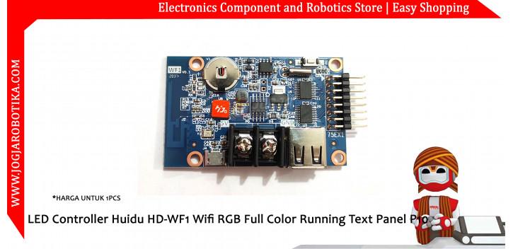 LED Controller Huidu HD-WF1 Wifi Hub 75 RGB Full Color Running Text Panel P10