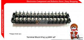 Terminal Block KF45 9.5mm 14P