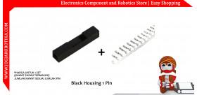 Black Housing 1 Pin