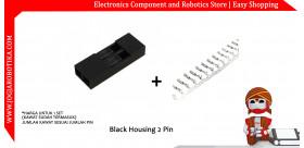 Black Housing 2 Pin