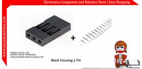 Black Housing 3 Pin