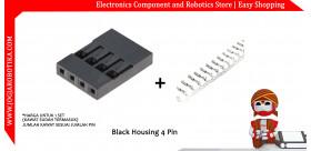 Black Housing 4 Pin