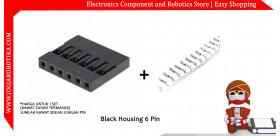 Black Housing 6 Pin