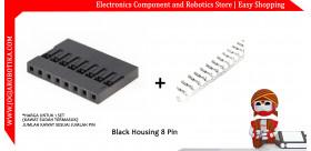 Black Housing 8 Pin