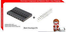 Black Housing 9 Pin