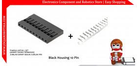 Black Housing 10 Pin