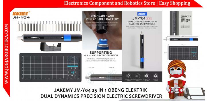 Jakemy JM-Y04 21 in 1 Obeng Listrik Dynamic Precision Screwdriver