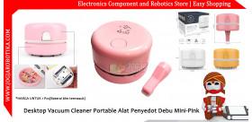 Desktop Vacuum Cleaner Portable Alat Penyedot Debu Mini-Pink