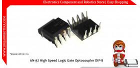 6N137 High Speed Logic Gate Optocoupler DIP-8
